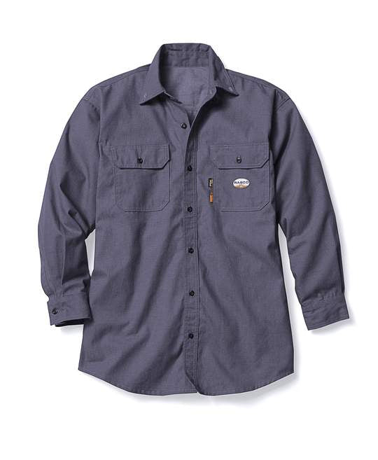 ***Rasco FR Charcoal DH Air Uniform Shirt FR1344CH Perfect for Summer!