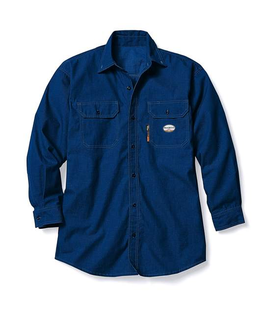 Rasco FR Navy DH Air Uniform Shirt FR1344NV Perfect for Summer!