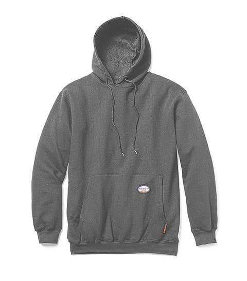 **Rasco FR Pullover Hoodie Black and Grey (no zipper)