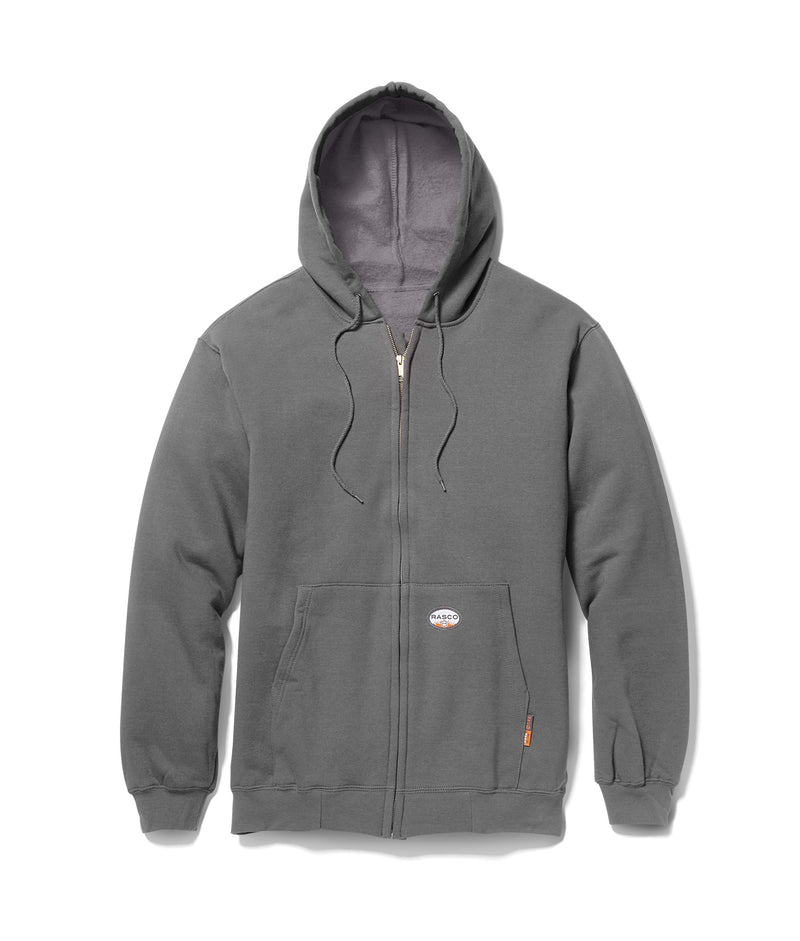 **Rasco FR Hooded Sweatshirt Hoodie ZIP-UP