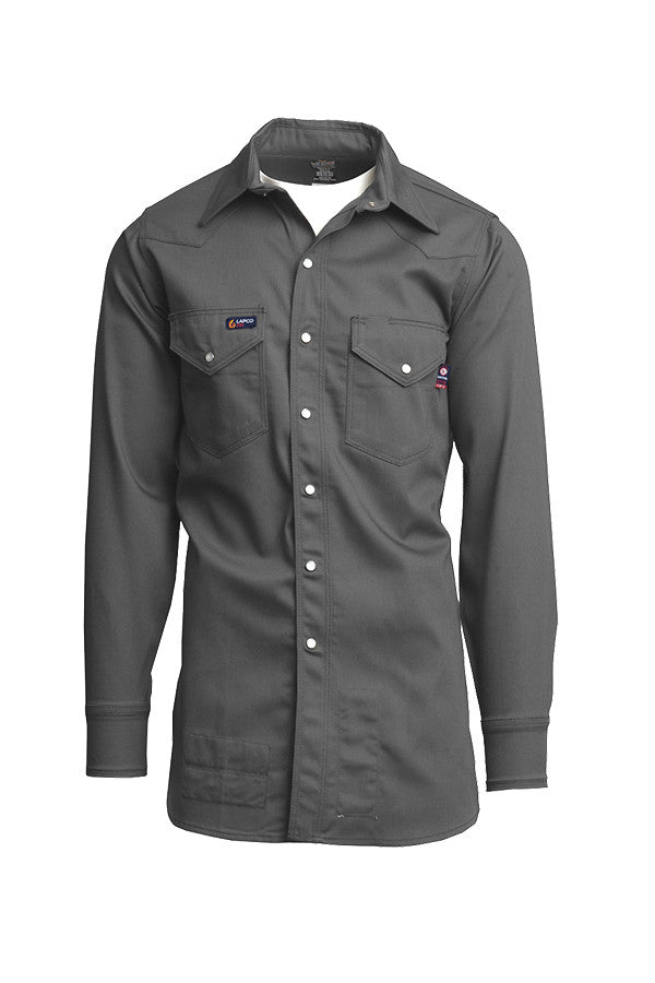 Lapco FR 7 oz Western Shirt-100% Cotton