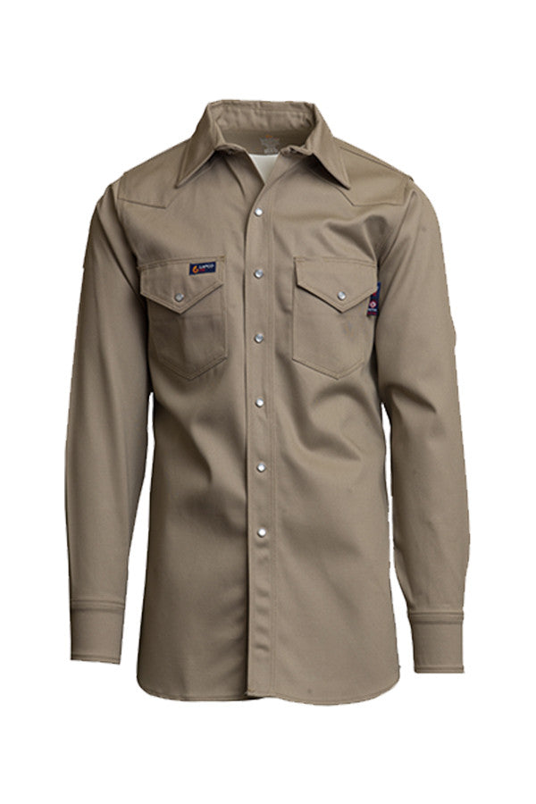 Lapco FR Welding Shirt-100% Cotton