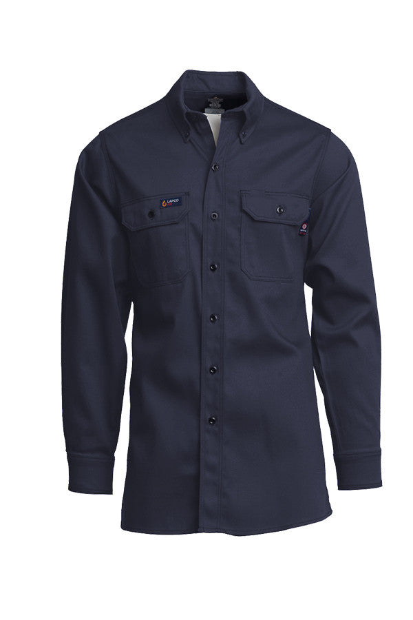 Lapco FR 7 oz Uniform Shirts-100% Cotton