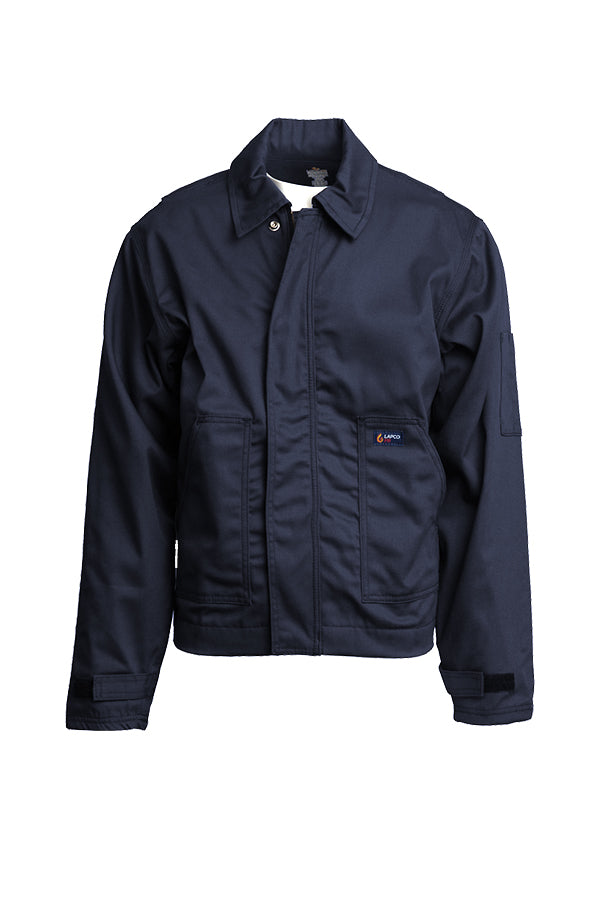 New Lapco FR 7 oz. Navy Utility Jacket-100% Cotton