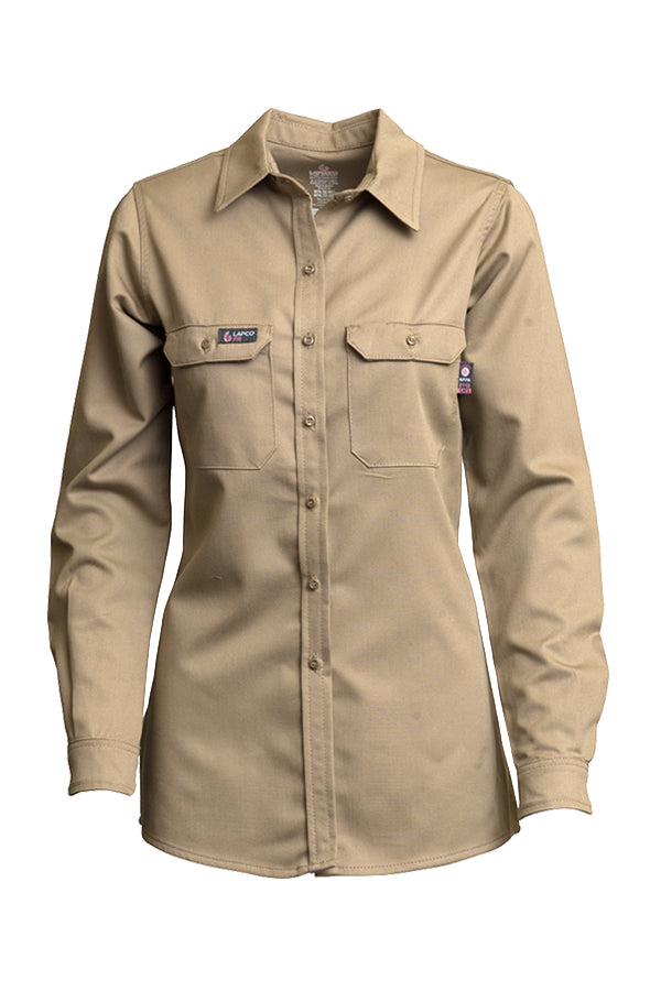 Lapco FR 7 oz Ladies Uniform Shirts-UltraSoft Blend