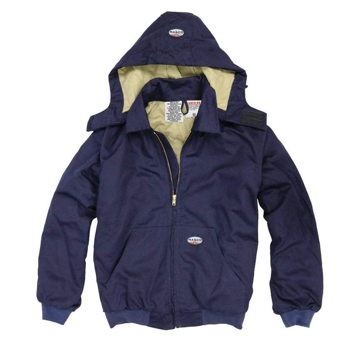 Rasco FR Hooded NAVY Jackets