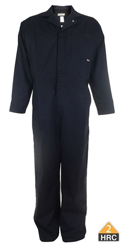 InsulTech FR Workman Coveralls in Khaki, Royal Blue, Navy, and Navy-Reflective
