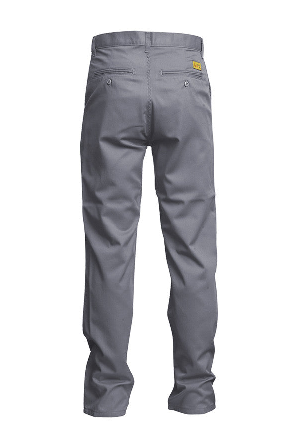 Lapco FR Gray 7 oz Uniform Pants-Advanced Comfort 88/12