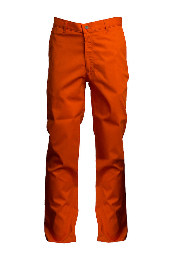 Lapco FR Orange 7 oz Uniform Pants-100% Cotton