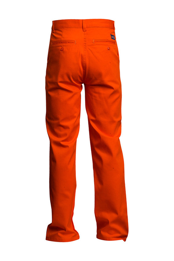 New Lapco FR Orange 7 oz Uniform Pants-100% Cotton