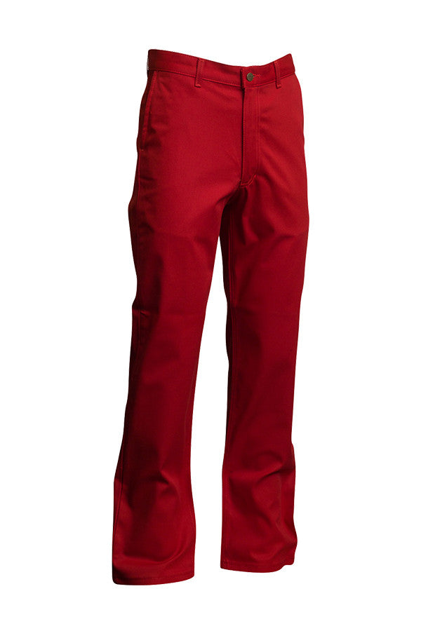 Lapco FR Red 7 oz Uniform Pants-100% Cotton