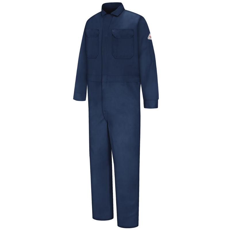 Bulwark FR fire retaradant DELUXE COVERALLS CED4 in Navy and Khaki