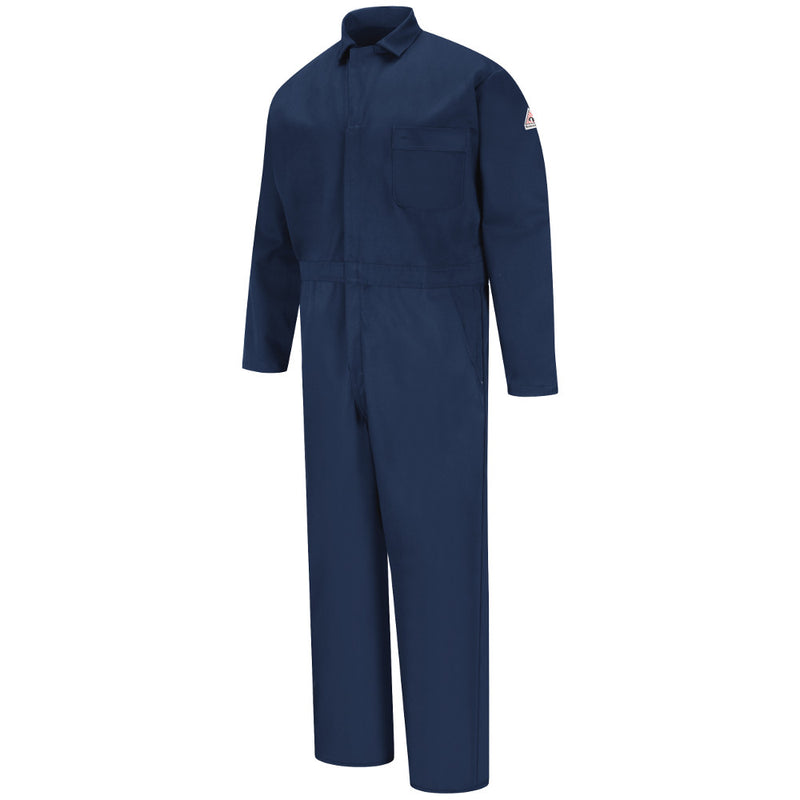Bulwark FR fire retardant Navy Industrial Coverall - CAT 2 - CEH2NV