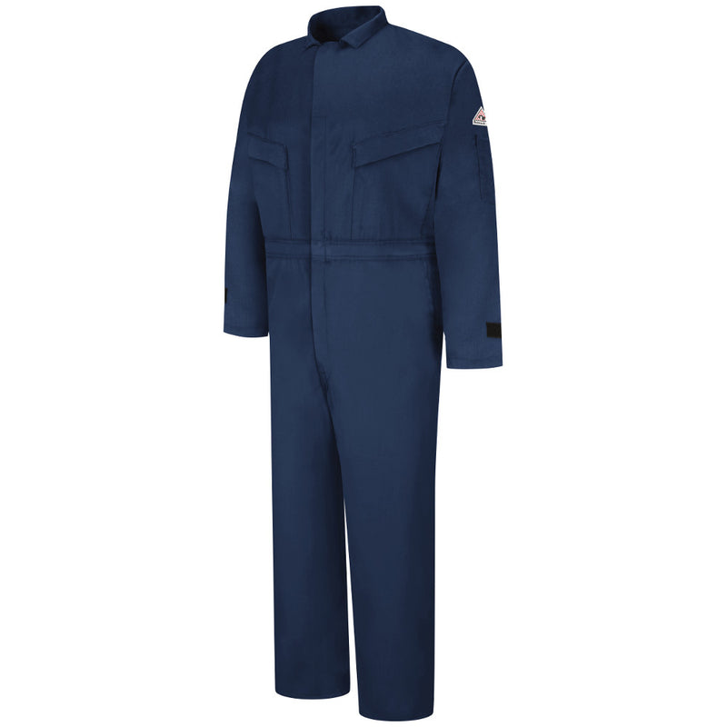 Bulwark fire retardant Navy EXCEL FR® ComforTouch® Deluxe Coverall - CAT 2 - CLZ4NV