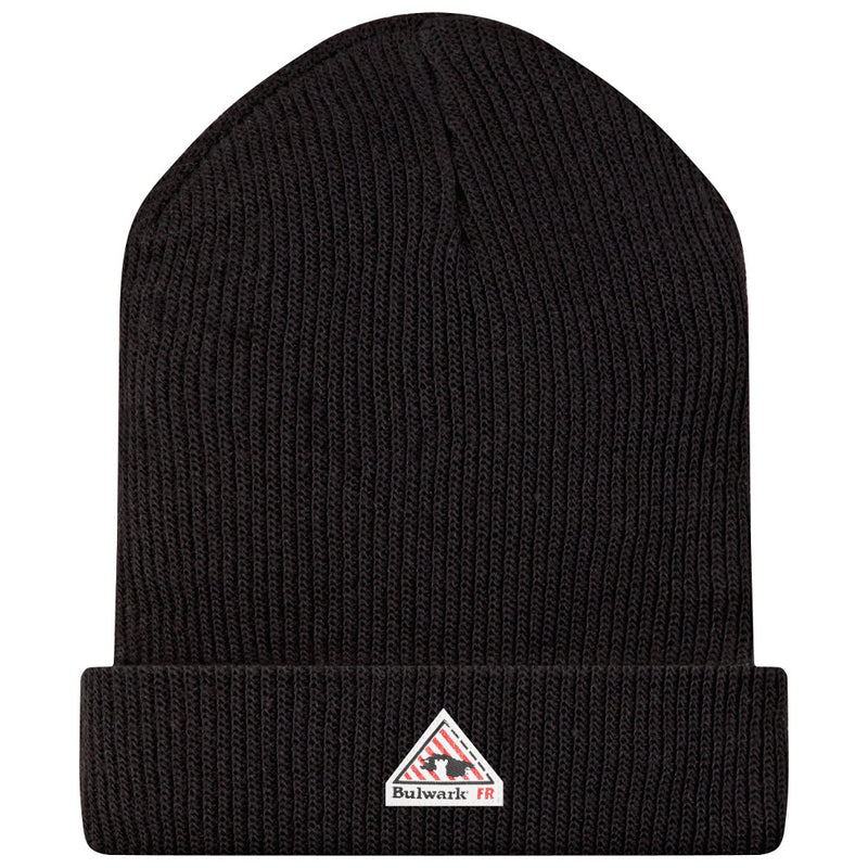 Bulwark FR fire retardant Black Knit Cap - CAT 3 - HMC2BK