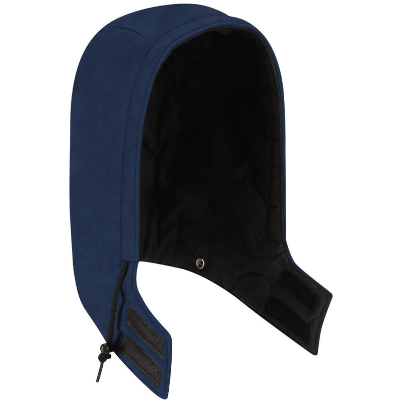 Men's Bulwark FR UNIVERSAL FIT SNAP-ON INSULATED HRC/CAT4 HOOD HNH2 in Navy and Royal Blue