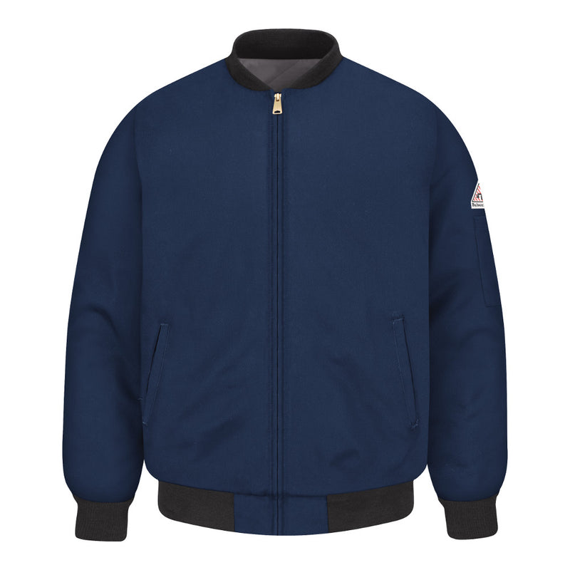 Bulwark FR fire retardant Navy Insulated Team Jacket - CAT 4 - JET2NV