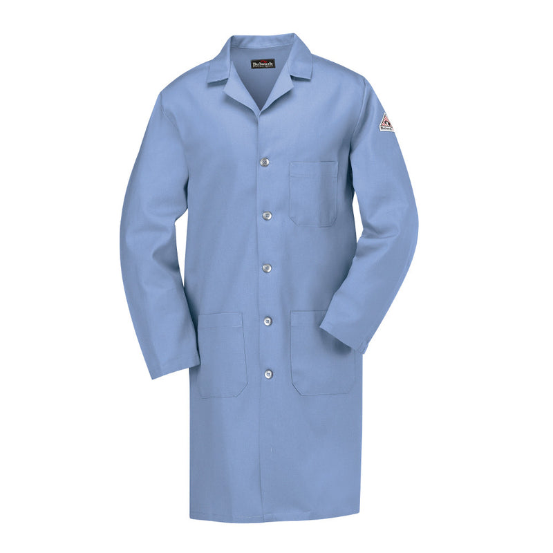 Bulwark FR fire retardant Light Blue Lab Coat - CAT 1 - KEL2LB