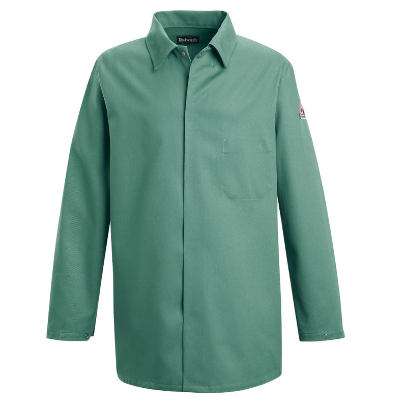 Bulwark FR fire retardant Visual Green Work Coat CAT 2 - KEW2VG