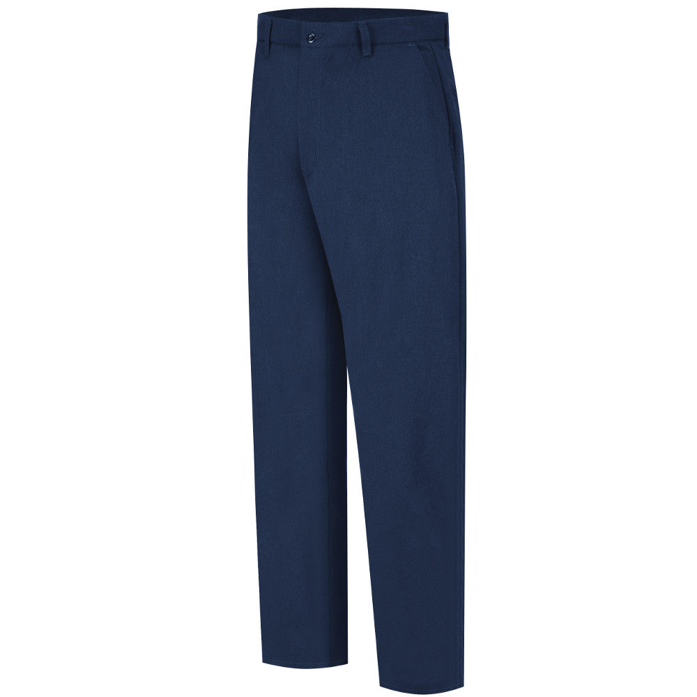 Bulwark FR fire retardant Men's CoolTouch Navy Work Pants Slacks - CAT 2 - PMW2NV