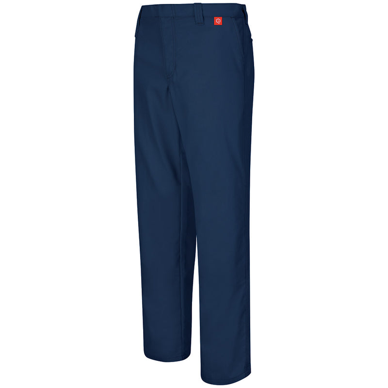 Men's FR Bulwark iQ Series Endurance Work Pant - Canvas - 9oz in Navy QP10NV