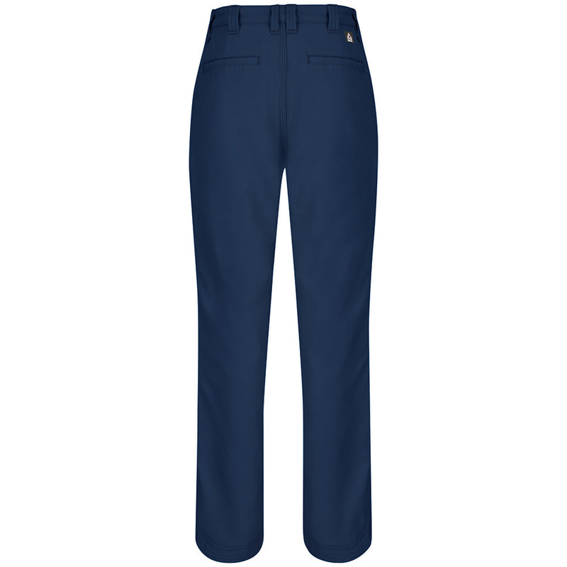 Women's FR Bulwark iQ Endurance Work Pant - Canvas - 9oz in Navy QP11NV
