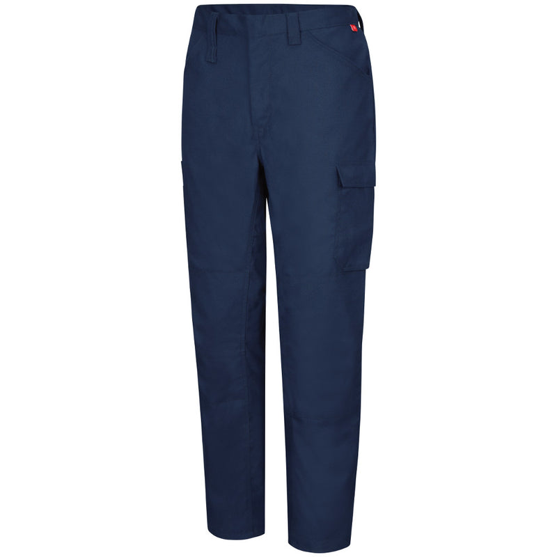 Men's FR Bulwark iQ Comfort Lightweight Pant in Navy QP14NV