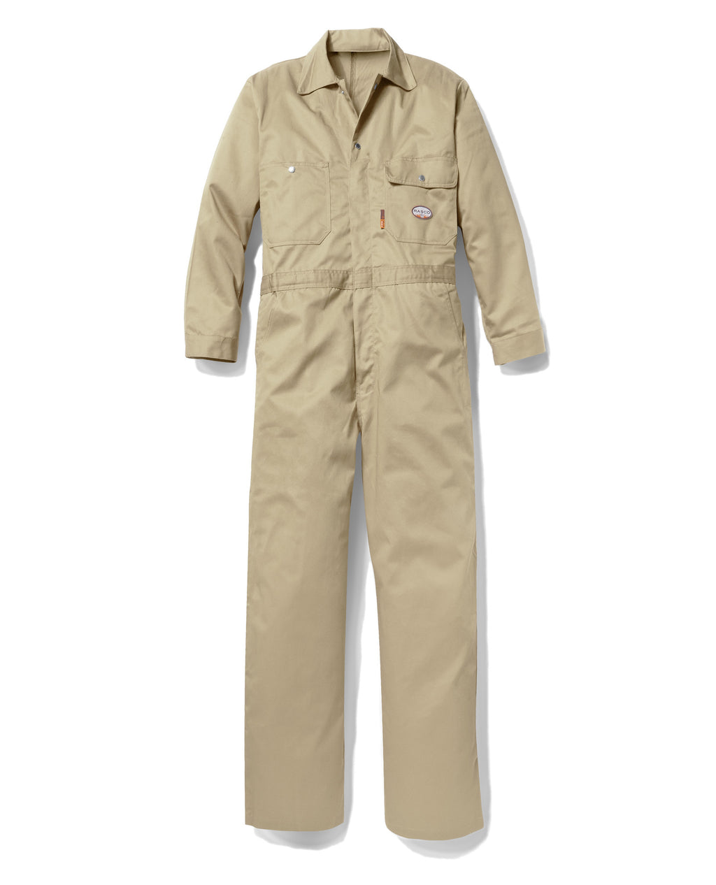 Rasco FR Lightweight Khaki Coveralls