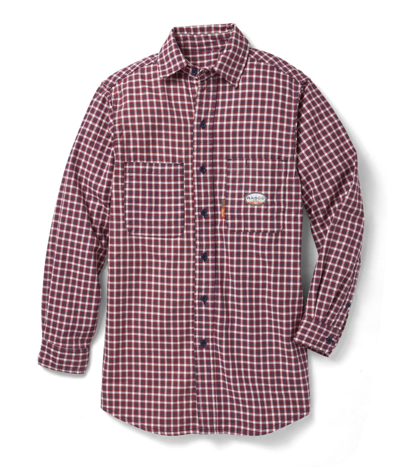 Rasco FR Plaid Dress Shirts