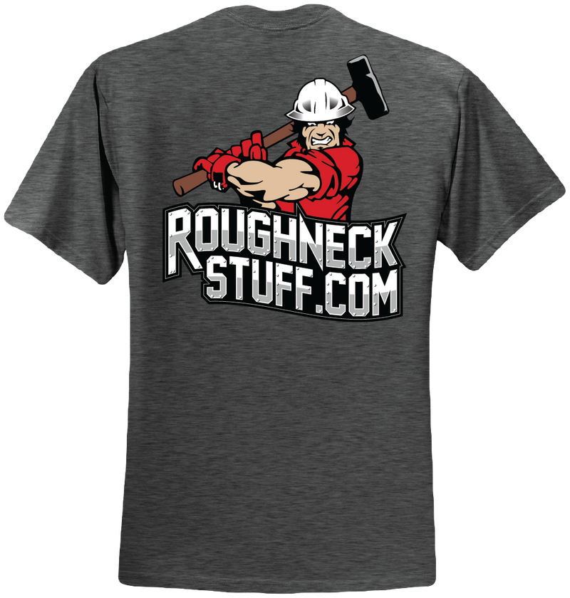 Men's or Women's Roughneckstuff.com logo short sleeved T-shirt (NON-FR) in multi-colors