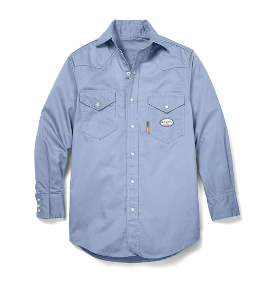 Rasco FR Lightweight Work Shirt with Snaps-7.5 oz