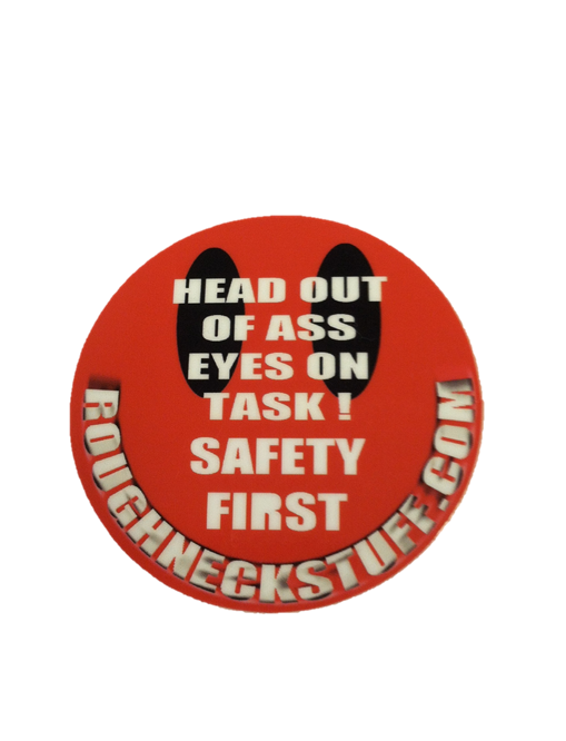 Safety First Hard Hat Sticker