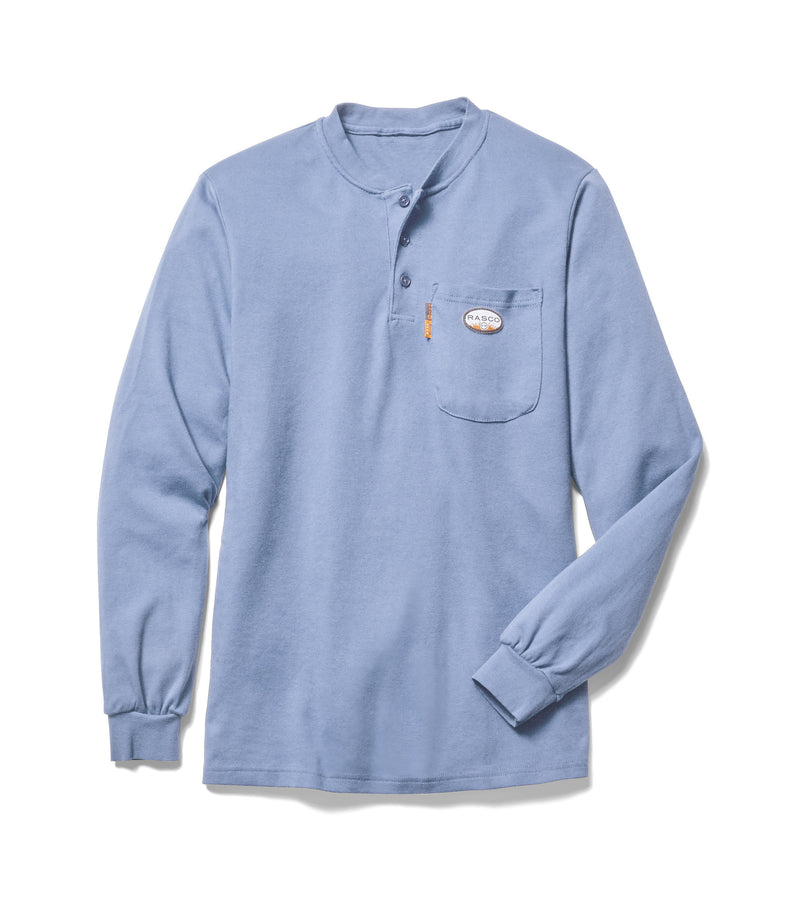New Rasco FR Henley in several colors