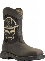 *MEN'S ARIAT WORKHOG XT VENTTK BLD CT IRN/RFNCK BOOTS 10031507