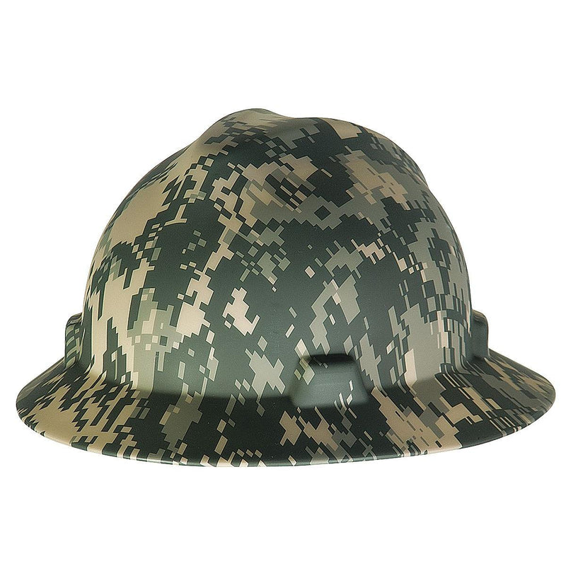 MSA Camouflage Freedom Series™ V-Gard® Polyethylene Cap Style Hard Hat With Fas Trac®