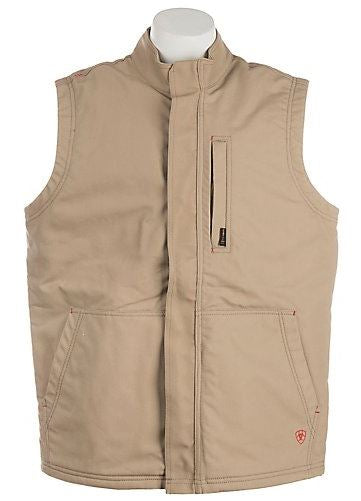 New Ariat FR Khaki Workhorse Vest