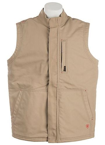 CLEARANCE Ariat FR Khaki Workhorse Vest SIZE: 3XL