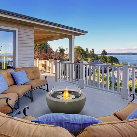 Top 10 Best Fire Pits For Your Deck This Summer - EcoSmart Fire Pod 30 Freestanding Fire Pit
