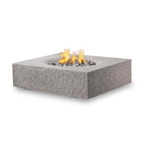 Top 10 Best Fire Pits For Your Deck This Summer - PyroMania Fire Monument Square Concrete Fire Pit Table