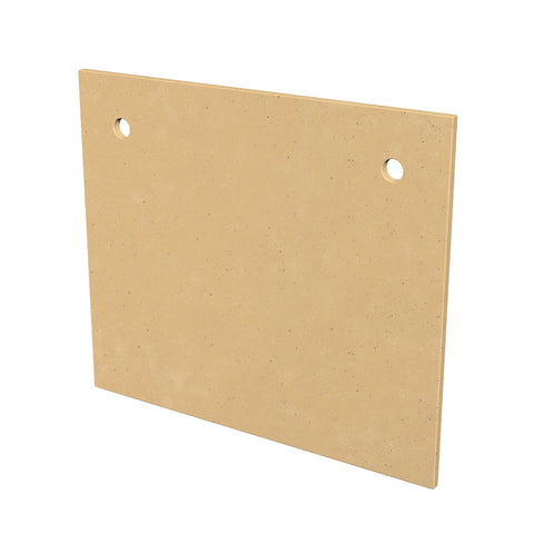 Image of American Fyre Designs GFRC Protector Plate for Cordova Fireplaces - 8205-CB Accessories American Fyre Design