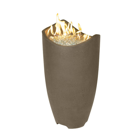 Image of American Fyre Designs Wave Urn Fire Column 530-CB-10-V2NC Fire Columns American Fyre Design