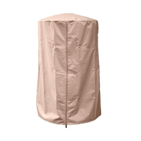 Image of AZ Patio Heaters Heavy Duty Portable Patio Heater Cover Fire Pit HVD-TTCV - In Stock Protective Covers AZ Patio Heaters Tan 24L X 24W X 38H