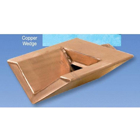 Bobe Water And Fire 8 Inches Copper Wedge Scupper WC-8 Scupper Bobe Water and Fire