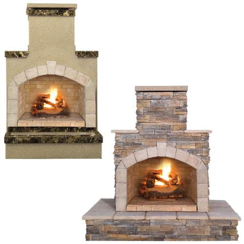 "Cal Flame 48"" Fireplace FRP906-1 Fireplaces Cal Flame"