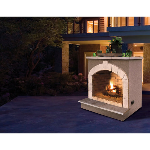 "Image of Cal Flame 48"" Fireplace FRP906-2 Fireplaces Cal Flame"