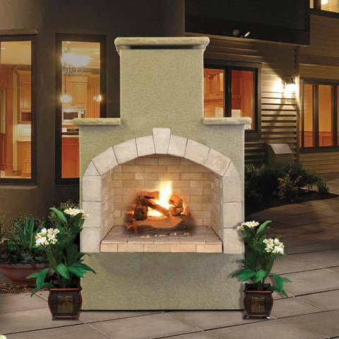 "Image of Cal Flame 48"" Fireplace FRP908-1 Fireplaces Cal Flame"