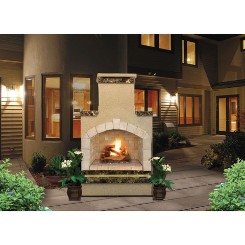 "Image of Cal Flame 78"" Fireplace FRP908-3 Fireplaces Cal Flame"