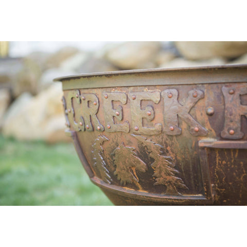 Image of Cedar Creek Sculptures Legacy Wood Burning Fire Pit Fire Pit Cedar Creek Sculptures