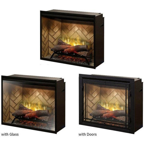 Image of Dimplex Revillusion® 30-Inch Built-In Electric Fireplace - RBF30 Fireplaces Dimplex
