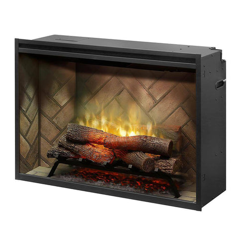 Image of Dimplex Revillusion® 36-Inch Built-In Electric Fireplace - RBF36 Fireplaces Dimplex